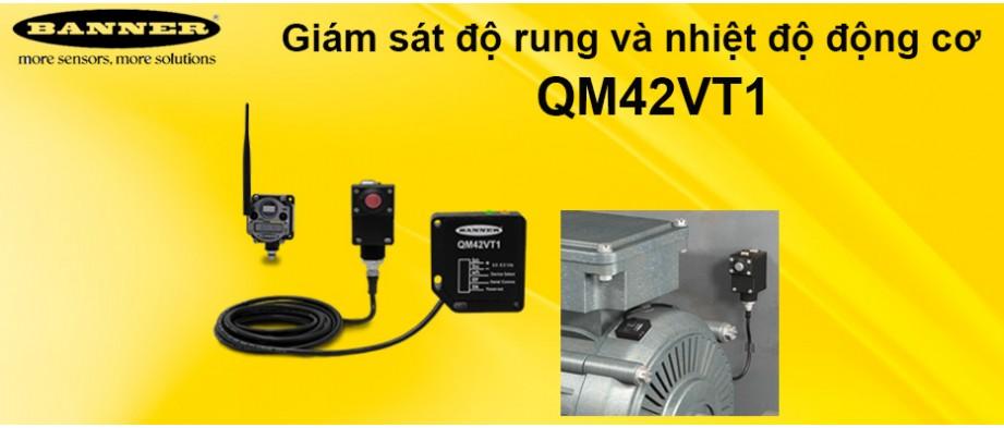 Cảm biến độ rung  và nhiệt độ QM42VT1