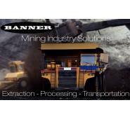Ứng dụng sản phẩm Banner Engineering trong công nghiệp mỏ